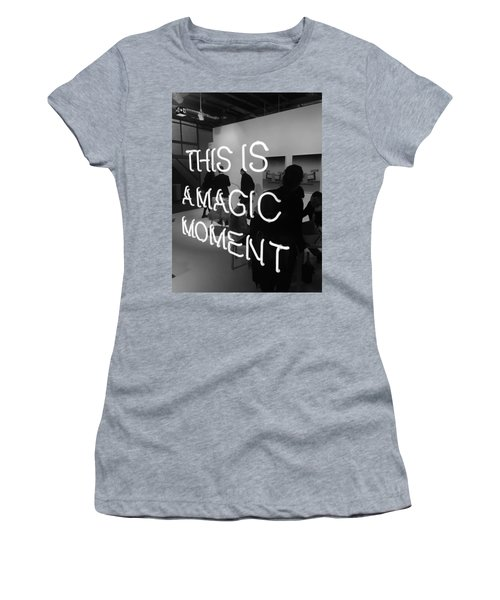 This Is A Magic Moment Women's T-Shirt (Junior Cut) by Funkpix Photo Hunter