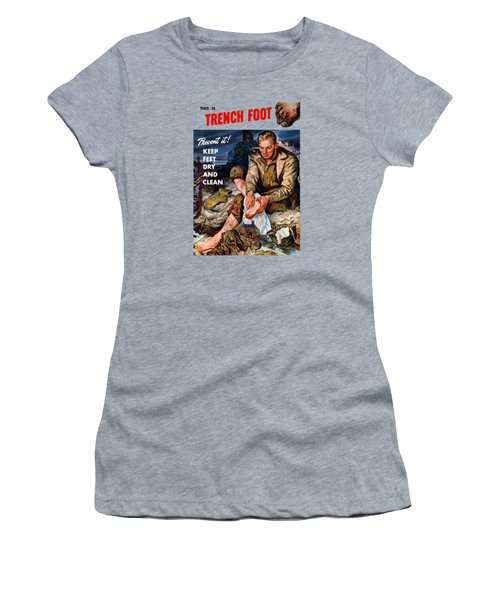 This Is Trench Foot - Prevent It Women's T-Shirt