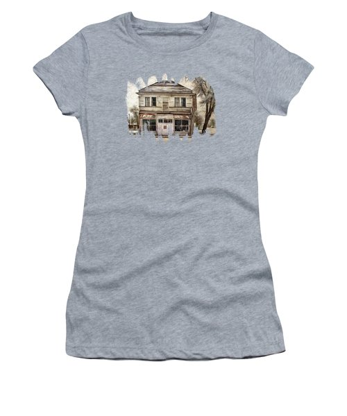 Women's T-Shirt featuring the photograph This Old Store by Thom Zehrfeld