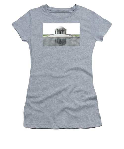 Thomas Jefferson Memorial, Washington Women's T-Shirt (Athletic Fit)