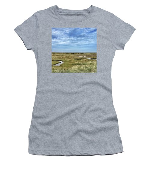 Thornham Marshes, Norfolk Women's T-Shirt