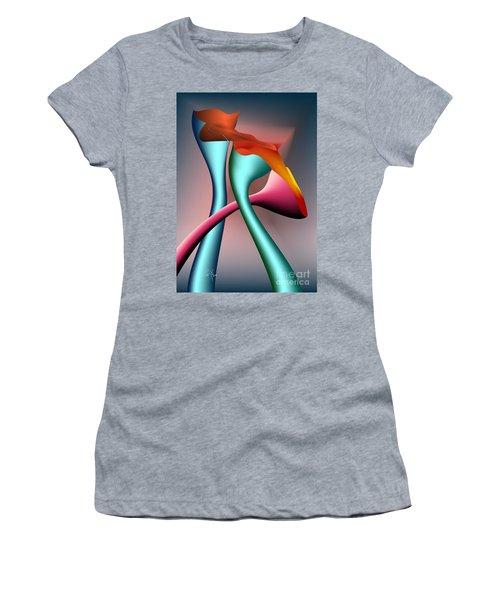 Three Choices Women's T-Shirt (Junior Cut) by Leo Symon