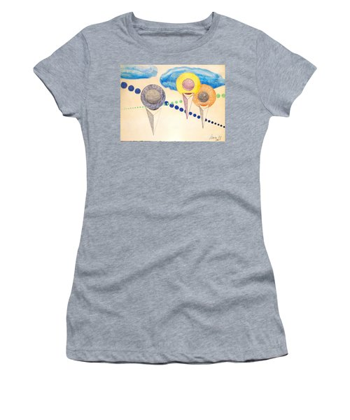 The Recession Of Depression 2 Women's T-Shirt (Junior Cut) by Rod Ismay