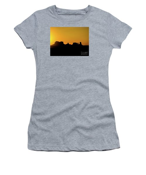 Three Sisters Backlight Women's T-Shirt