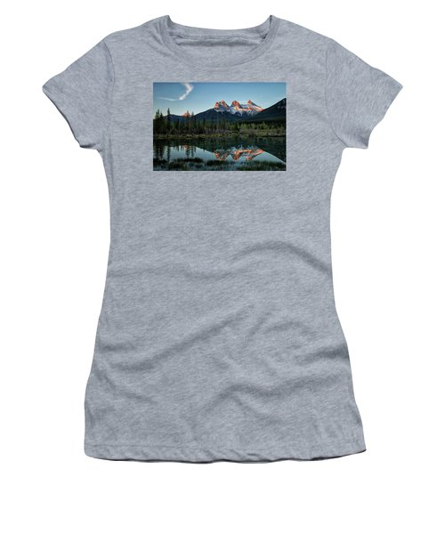 Three Sisters Sunrise Women's T-Shirt (Athletic Fit)
