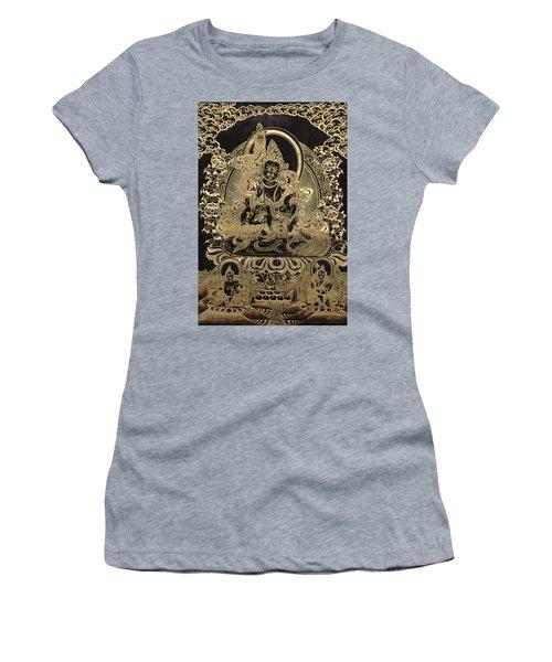 Tibetan Thangka - Vaishravana Women's T-Shirt (Junior Cut) by Serge Averbukh