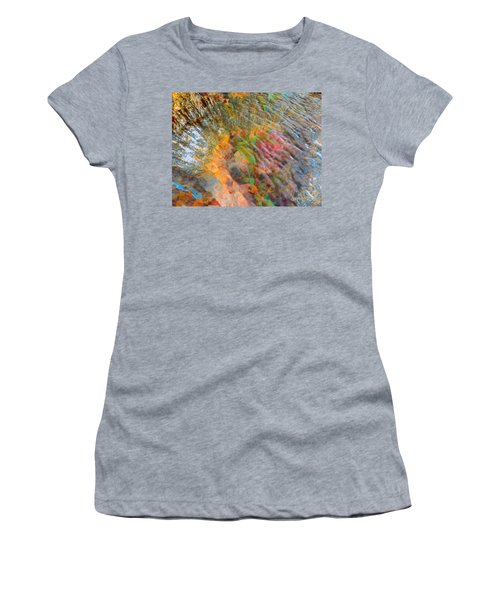 Tidal Pool And Coral Women's T-Shirt (Athletic Fit)