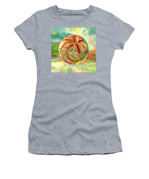 Tiger Lily Dream Women's T-Shirt (Athletic Fit)