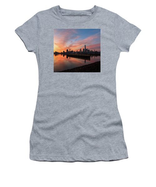Time To Reflect  Women's T-Shirt (Athletic Fit)