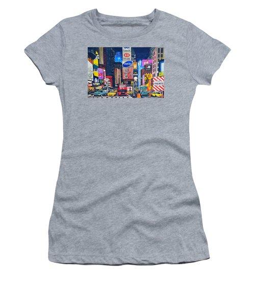 Times Square Women's T-Shirt