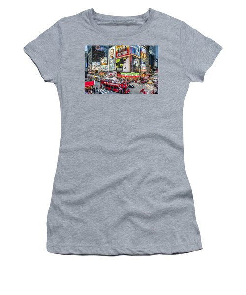 Times Square II Women's T-Shirt
