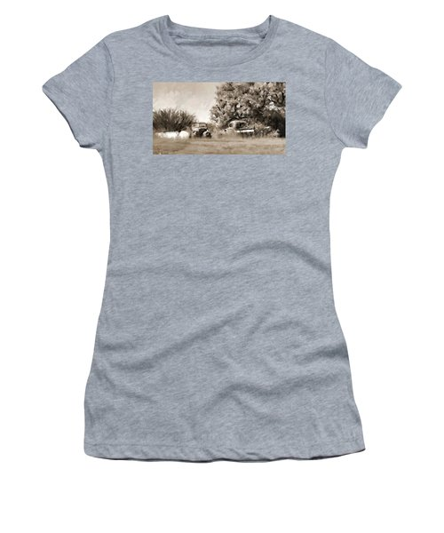 Timeworn Women's T-Shirt (Athletic Fit)