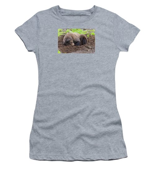 Tired Women's T-Shirt (Junior Cut) by Harold Piskiel
