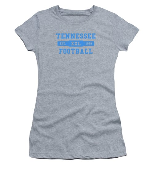 Titans Retro Shirt Women's T-Shirt (Junior Cut) by Joe Hamilton