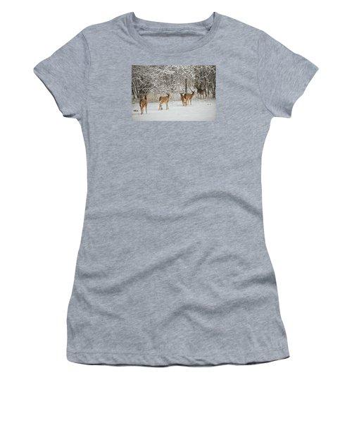 To Greet A Friend Women's T-Shirt (Junior Cut) by Nikki McInnes