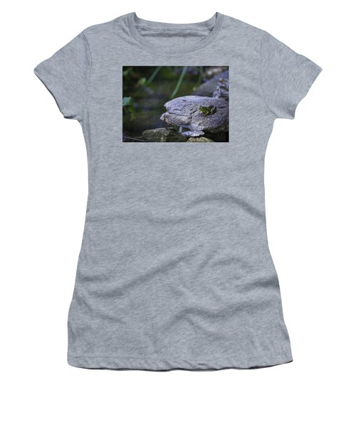 Toading It Up Women's T-Shirt (Junior Cut) by Jason Moynihan