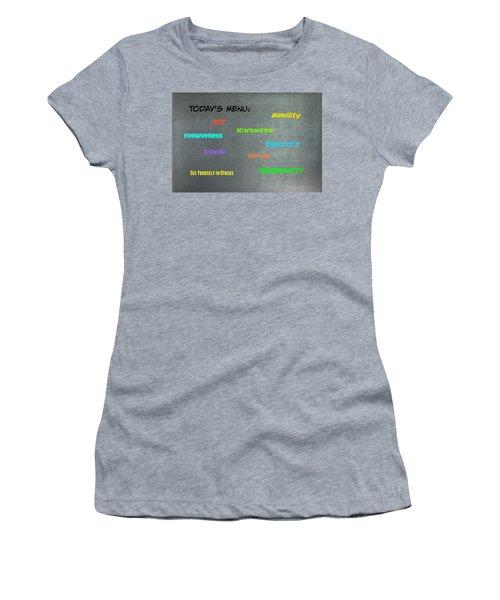 Today's Menu #2 Women's T-Shirt
