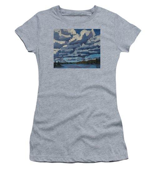 Top Lit Cumulus Women's T-Shirt (Athletic Fit)