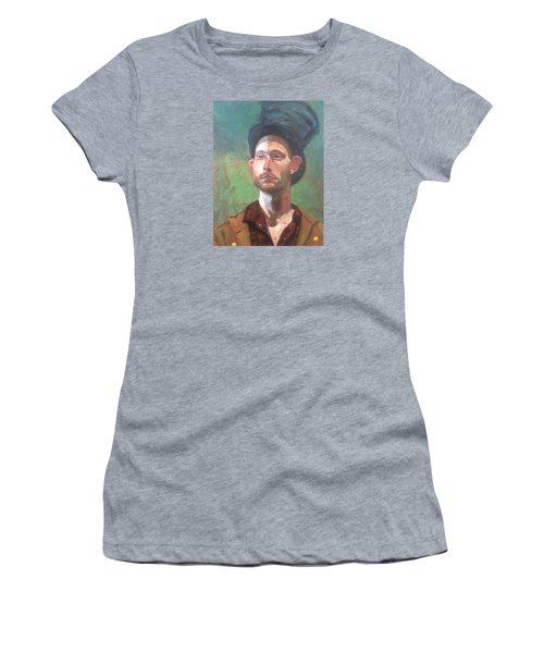 Women's T-Shirt featuring the painting Topper by JaeMe Bereal