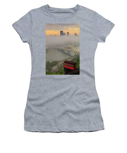 Touch Of Fog  Women's T-Shirt (Athletic Fit)