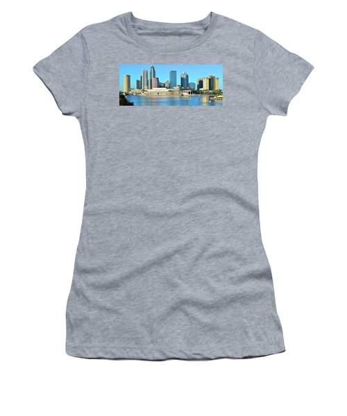 Women's T-Shirt (Junior Cut) featuring the photograph Towers By The Bay by Frozen in Time Fine Art Photography