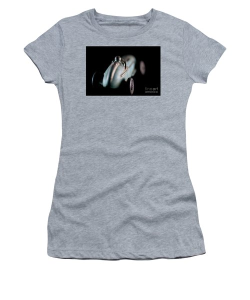 Women's T-Shirt (Junior Cut) featuring the photograph Toy Race Car by Wilma Birdwell
