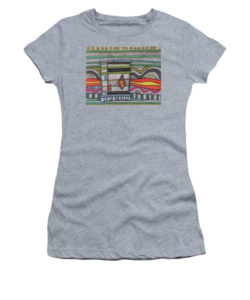 Enchanted Trash Can Women's T-Shirt (Athletic Fit)