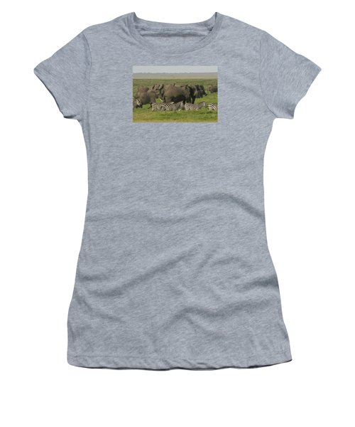 Women's T-Shirt (Junior Cut) featuring the photograph Travelling Companions by Gary Hall
