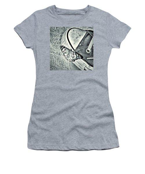Tread Lightly  Women's T-Shirt (Junior Cut) by Leah McPhail