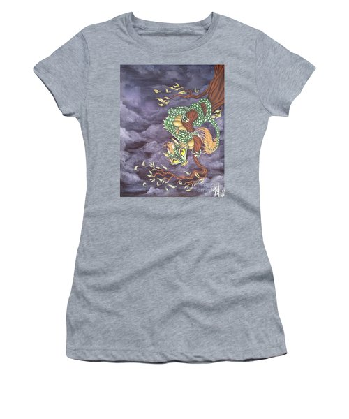 Tree Dragon Women's T-Shirt (Athletic Fit)