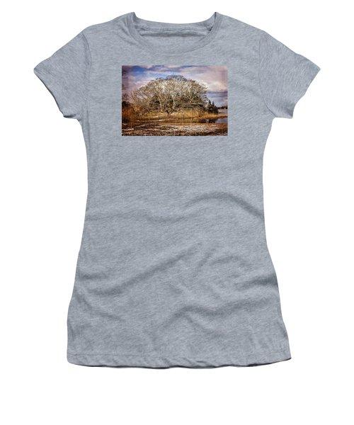 Tree In Marsh Women's T-Shirt