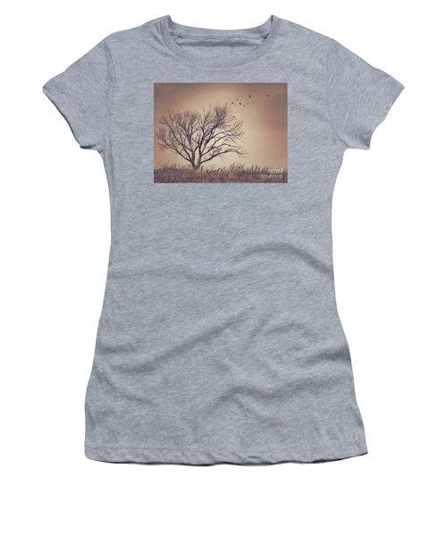 Women's T-Shirt (Junior Cut) featuring the photograph Tree by Juli Scalzi