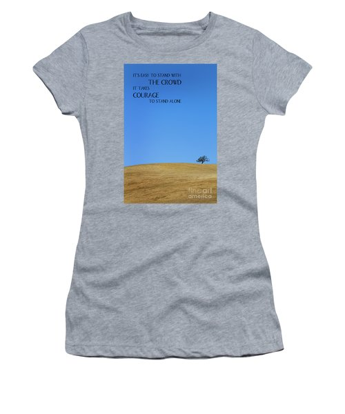 Tree Of Courage Women's T-Shirt