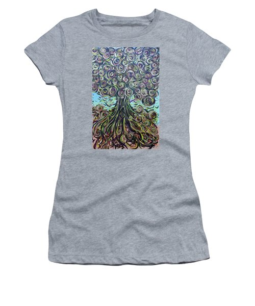 Tree Of Life- Fall Women's T-Shirt (Athletic Fit)