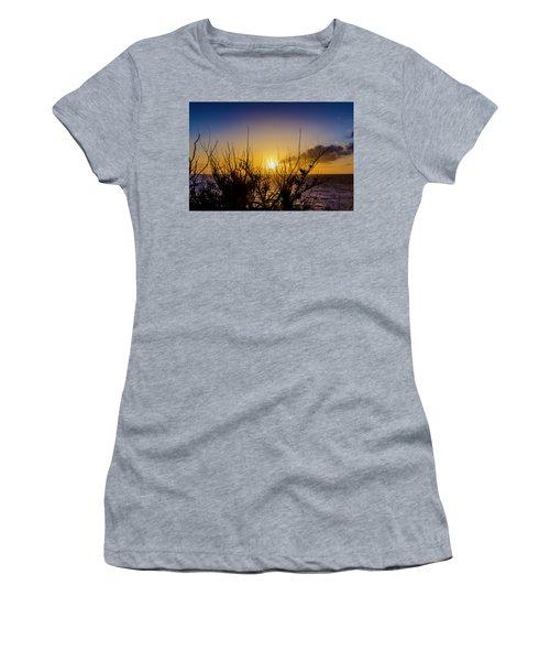Tree Sunset Women's T-Shirt