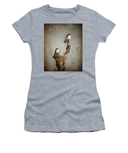 Tree Swallows Women's T-Shirt