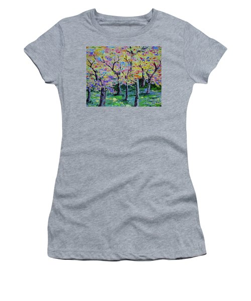 Trees On Hideaway Ct Women's T-Shirt (Athletic Fit)