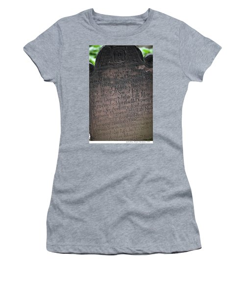 Trinity Tombstone Women's T-Shirt (Athletic Fit)