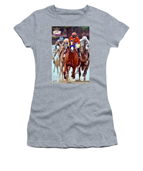 Triple Crown Winner Justify 2 Women's T-Shirt