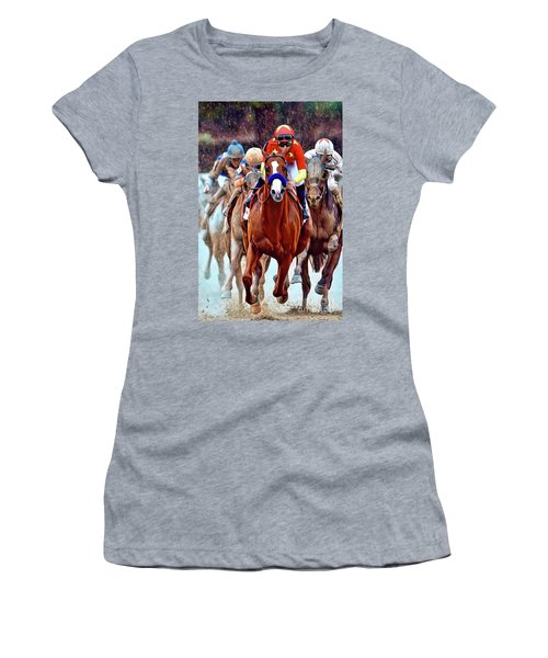 Triple Crown Winner Justify Women's T-Shirt