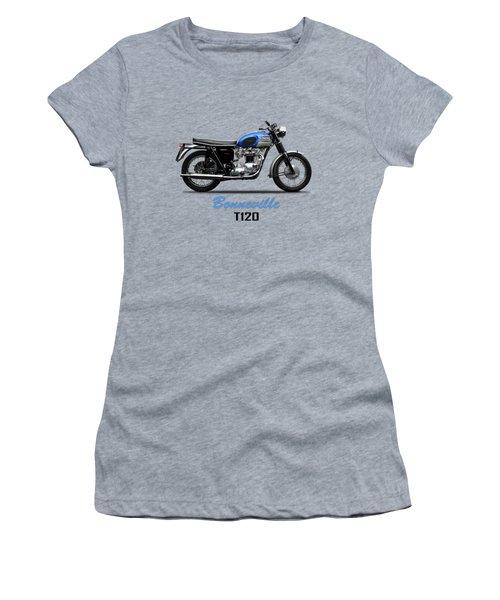 Triumph Bonneville T120 1965 Women's T-Shirt (Athletic Fit)