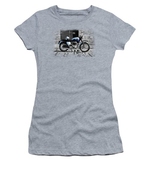 Triumph Bonneville T120 Women's T-Shirt (Junior Cut) by Mark Rogan