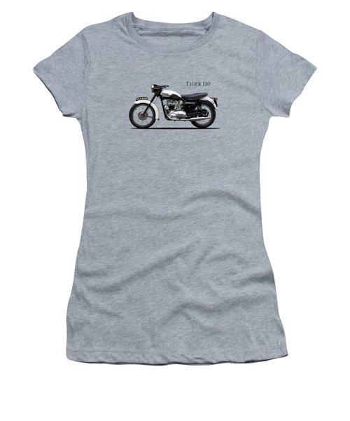 Triumph Tiger 1959 Women's T-Shirt (Athletic Fit)