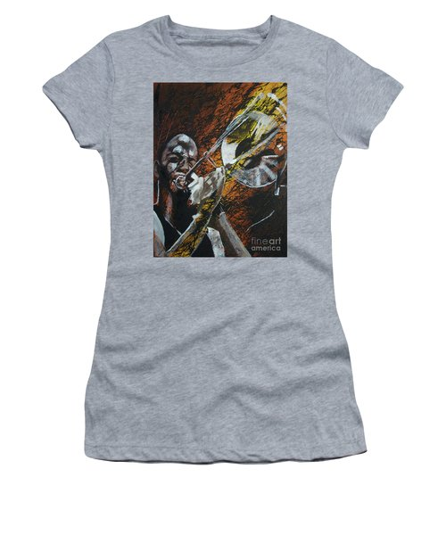 Trombone Shorty Women's T-Shirt (Junior Cut) by Stuart Engel