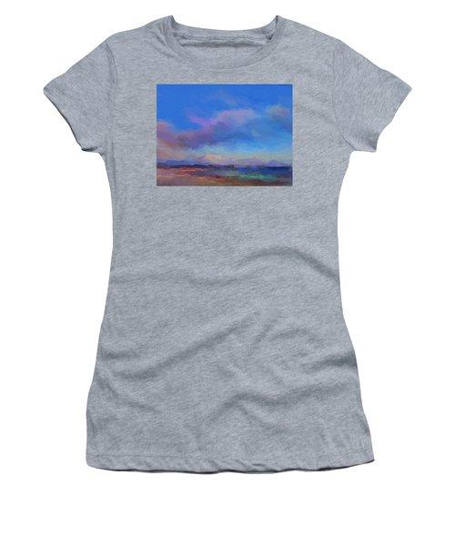 Tropical Seascape Women's T-Shirt (Junior Cut) by Anthony Fishburne