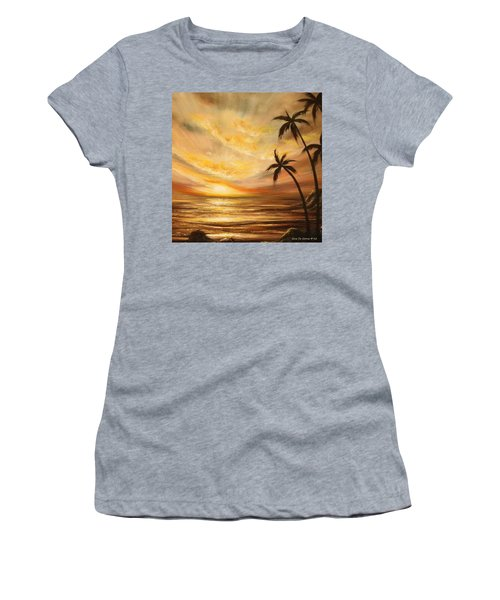 Tropical Sunset 64 Women's T-Shirt
