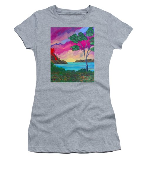Tropical Volcano Women's T-Shirt