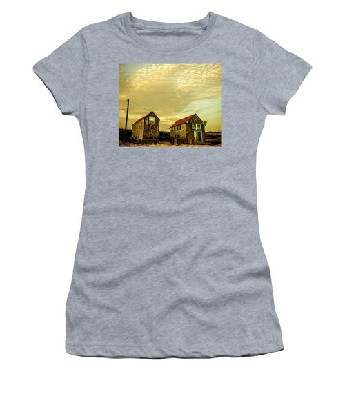 Truro Beach Houses Women's T-Shirt (Athletic Fit)