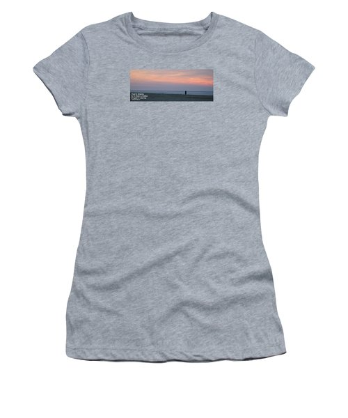 Trust In Dreams... Women's T-Shirt (Junior Cut)