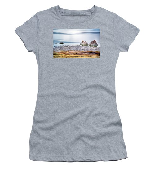 Tufa Formations At Mono Lake Women's T-Shirt